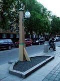 街灯圣徒Peterburg 图库摄影