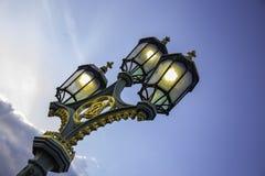 街灯在伦敦 库存照片