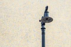 街灯在城市 库存照片