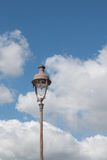 街灯在巴黎 免版税库存照片