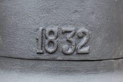 街灯1832 库存照片