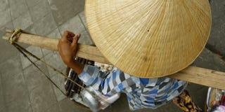 街边小贩 免版税图库摄影