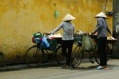 街边小贩 免版税库存图片