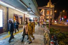街道东京 库存图片