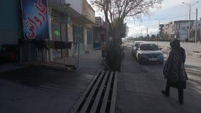 街道伊朗克尔曼 库存照片