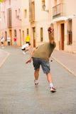 街道体育运动 免版税库存图片