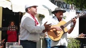 街道佛拉明柯舞曲在格拉纳达安大路西亚西班牙 影视素材