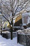 街道冬天 库存图片