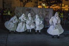 街道剧院节日在克拉科夫 免版税图库摄影