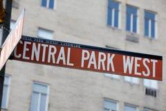 街道名字 库存照片