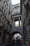 街道和大厦在伦敦 库存照片