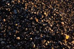 街道图片的石渣关闭 免版税库存照片