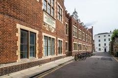 街道在剑桥 库存照片