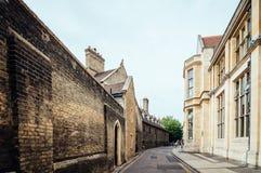 街道在剑桥 图库摄影