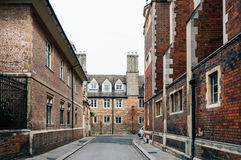 街道在剑桥 免版税图库摄影