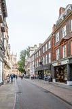 街道在剑桥 免版税库存图片