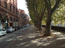 街道在图卢兹法国 图库摄影
