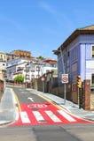 街道在塔拉贡纳 库存图片