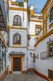 街道在塞维利亚,西班牙 库存图片