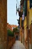 街道在威尼斯,意大利 免版税库存图片