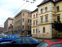 街道在布拉索夫 免版税库存图片