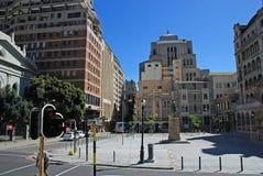 街道在开普敦,南非 库存图片