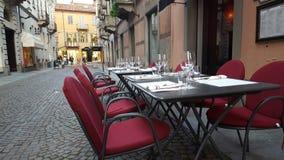 街道在意大利 免版税库存照片