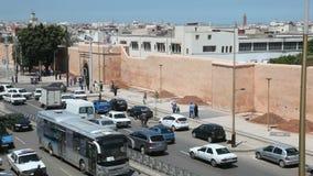 街道在拉巴特,摩洛哥 库存图片
