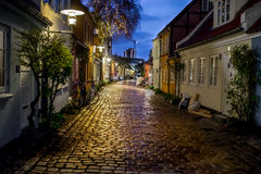 街道在晚上 图库摄影