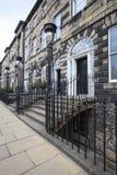 街道在爱丁堡 库存照片