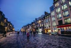 街道在爱丁堡 免版税库存照片