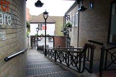 街道在科尔切斯特 免版税库存照片
