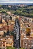 街道在罗马 库存照片