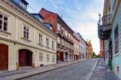 街道在萨格勒布 库存图片