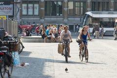 街道在跟特比利时 免版税库存图片
