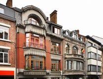 街道在那慕尔 瓦隆 比利时 免版税库存照片