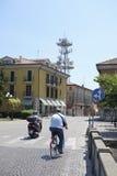 街道在阿德里亚的中心 免版税库存图片