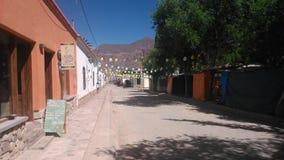 街道在阿根廷 免版税库存图片