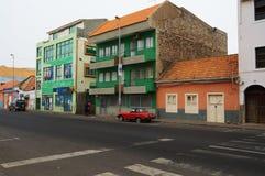街道在非洲 免版税库存照片