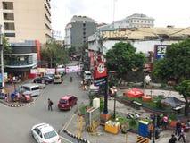 街道在马尼拉,菲律宾 库存照片