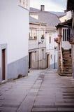 街道在维亚纳做大刀(西班牙) 库存图片