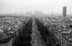 街道在巴黎 免版税库存照片