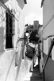 街道在Albaicin 库存照片