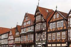 街道在Celle,德国 库存图片