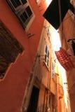 街道在Cinque Terre 免版税库存照片