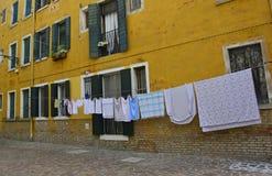 街道在Dorsoduro 3 免版税库存图片