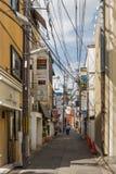 街道在Gion邻里 库存图片