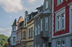 街道在Koenigswinter,德国 库存图片