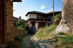 街道在Kovatchevitsa 库存图片