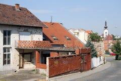街道在Vukovar 免版税库存图片
